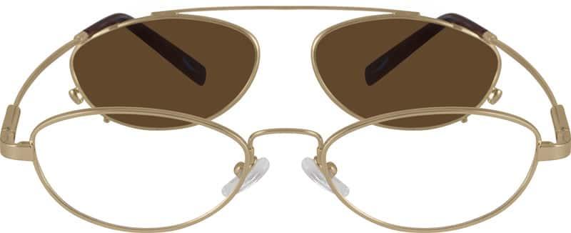 WomenFull RimMemory TitaniumEyeglasses #883914