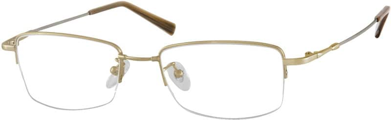 MenHalf RimMemory TitaniumEyeglasses #914611