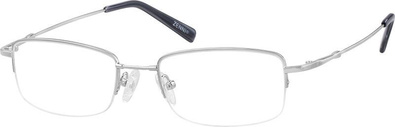 MenHalf RimMemory TitaniumEyeglasses #916211
