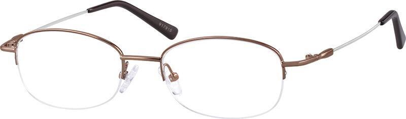 917915-bendable-memory-titanium-half-rim-frame