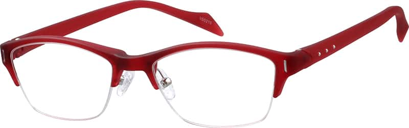 WomenHalf RimAcetate/PlasticEyeglasses #950218