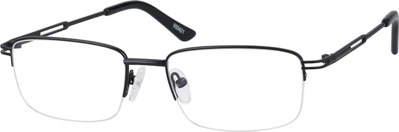 Metal Alloy Half-rim Frame (Same Appearance as Frame #5504)