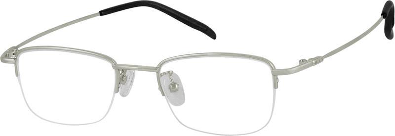 MenHalf RimStainless SteelEyeglasses #963821