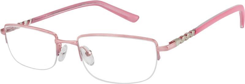 WomenHalf RimStainless SteelEyeglasses #977519