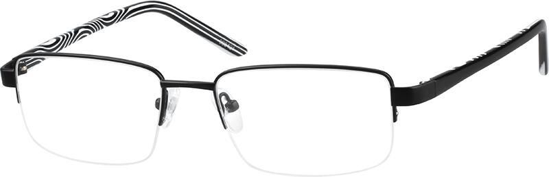 MenHalf RimMixed MaterialsEyeglasses #998411