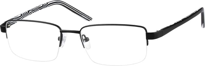 998421-stainless-steel-half-rim-frame-with-acetate-temples