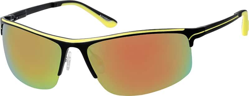 Blue Non-Prescription Sport Sunglasses #A111004 Zenni ...