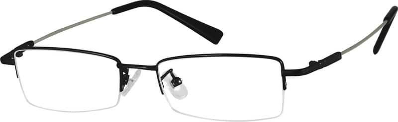 Half RimMemory TitaniumEyeglasses #A2311021