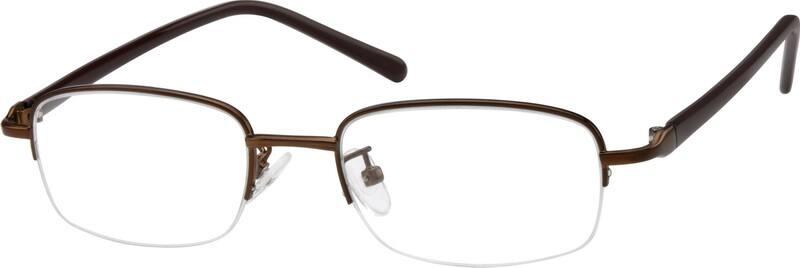 Half RimMixed MaterialsEyeglasses #A2735615