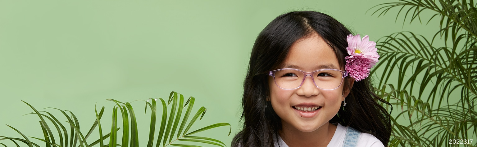 Shop Zenni kids' glasses smile with your cutest face