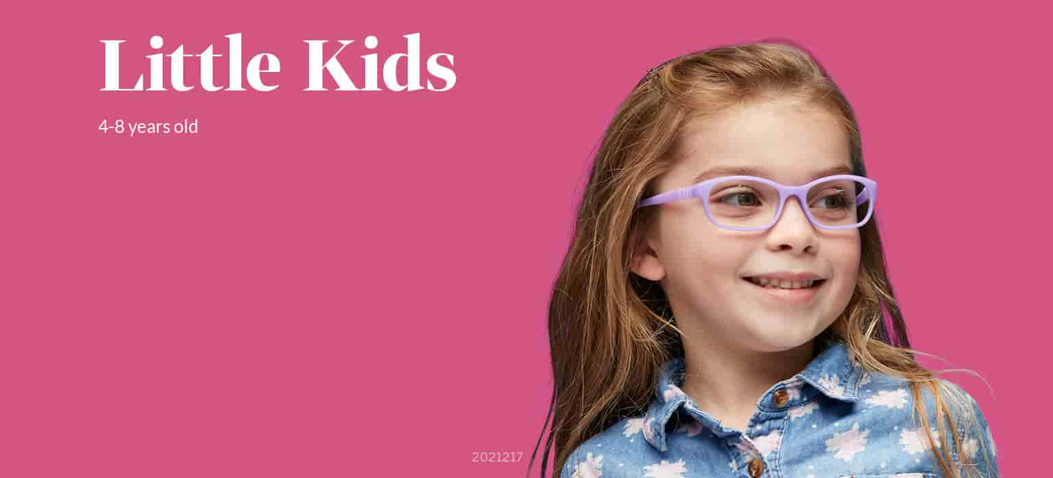 Little Kids Flexible Glasses