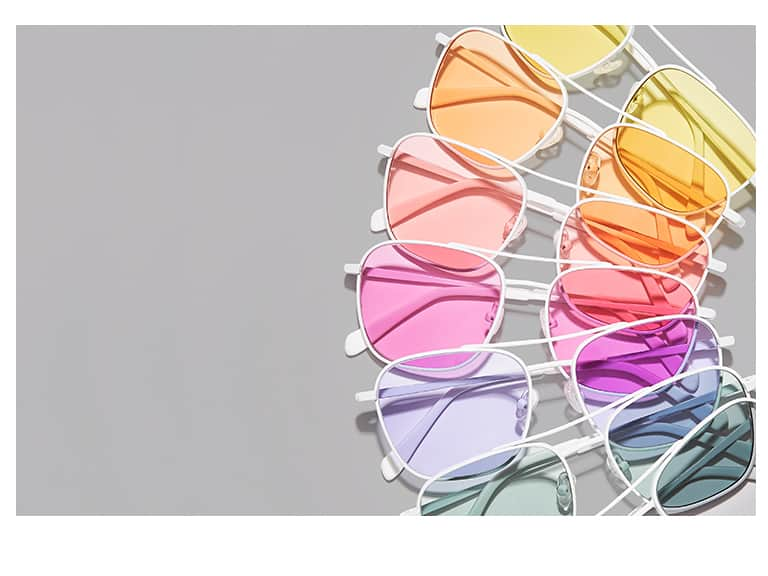 Zenni New tints for sunglasses and fashion glasses are live, shop now!