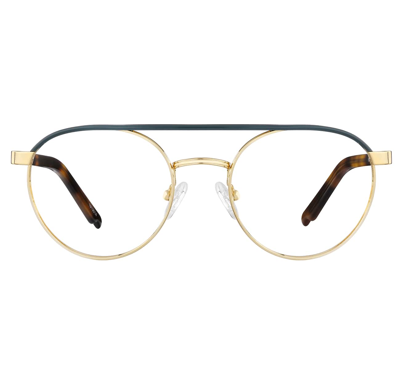 Image of Zenni gold aviator glasses #1913014 I am brave