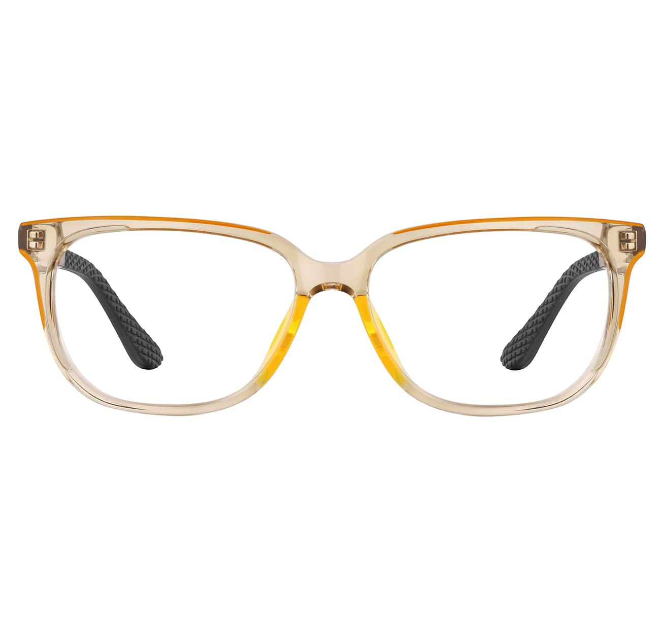 Image of Zenni brown rectangle glasses #4448115 I am fearless