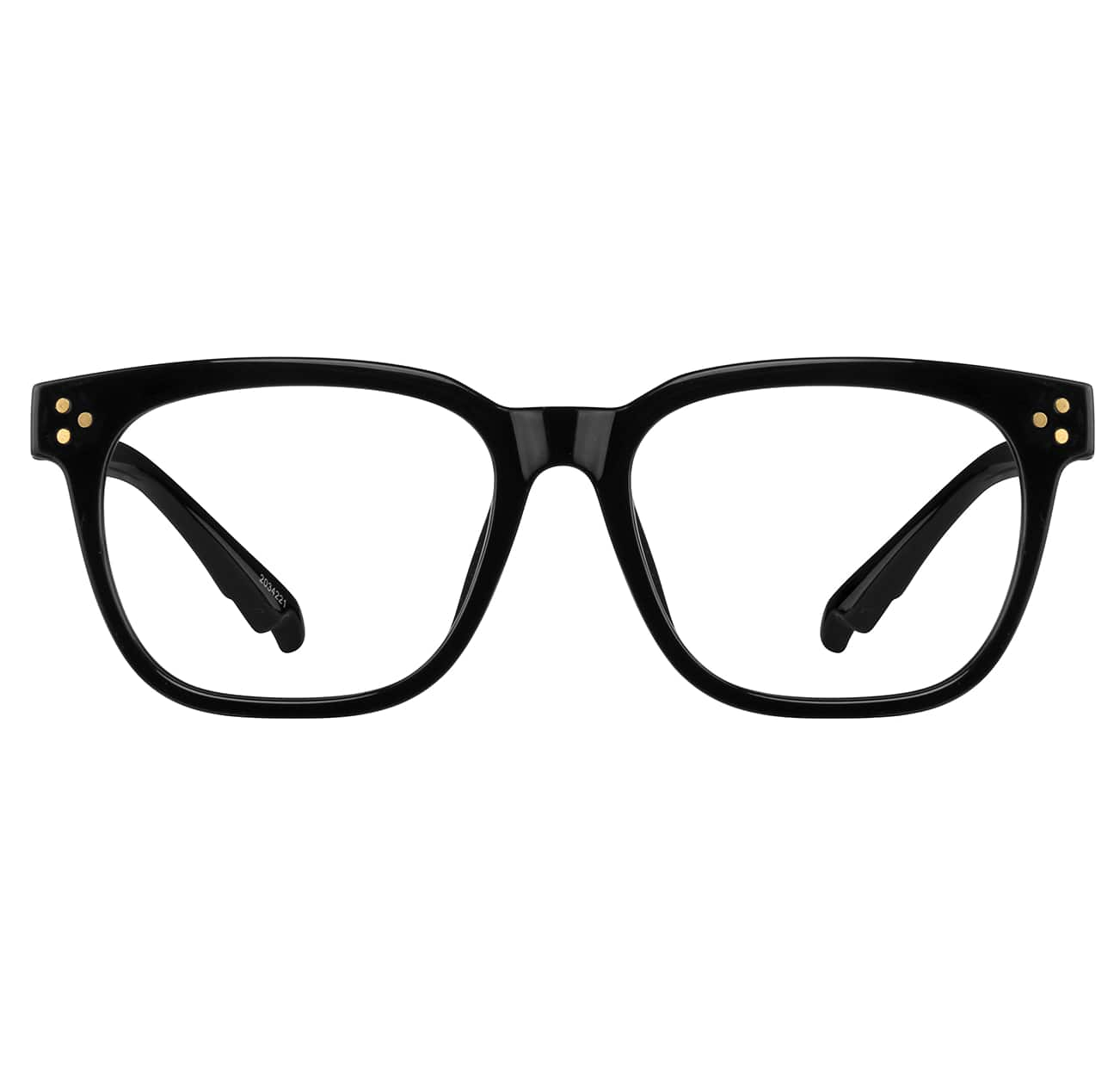 Image of Zenni black square glasses #2034121 I am grateful.
