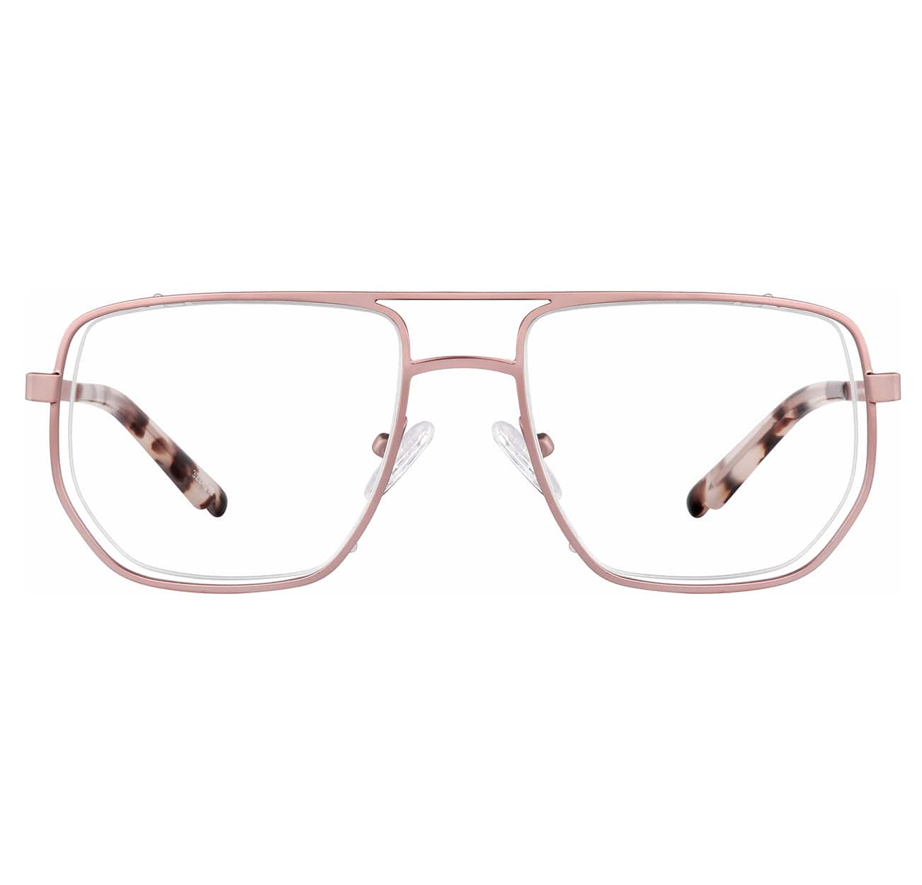 Image of Zenni rose gold aviator glasses #3224519 I am powerful