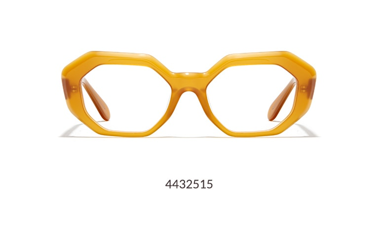 The Timo × Zenni Collection is a collaboration with designer Timo Weiland, inspired by weekend escapes. Breezy, an acetate geometric frame, brings the party to any 48-hour getaway. Shown in honey option.