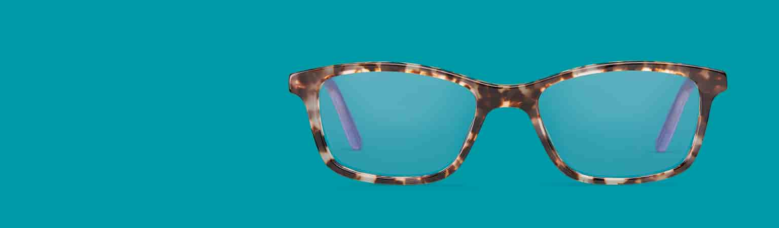 Frames designed with smaller dimensions to fit comfortably on narrow faces.