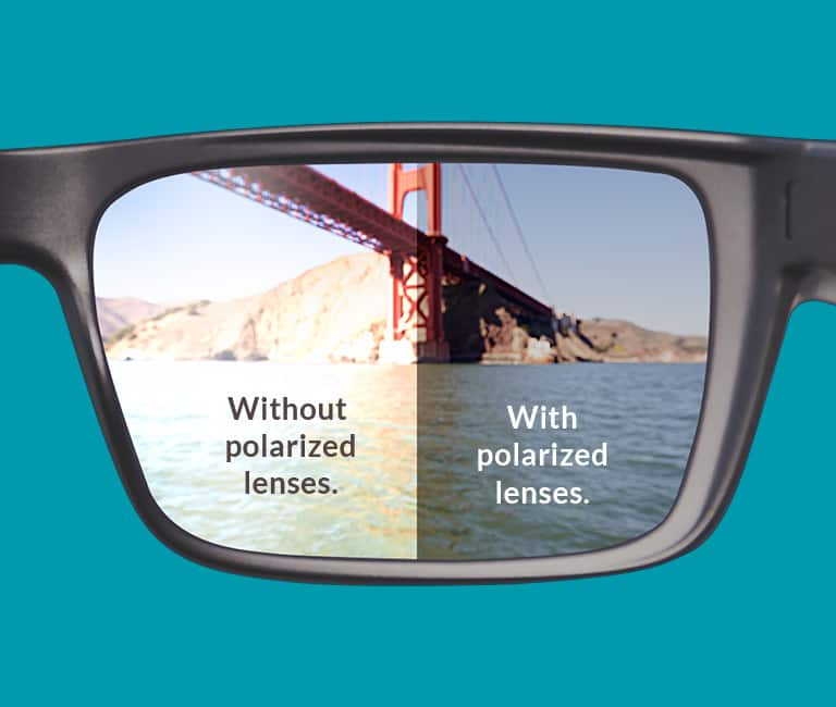 These premium lenses fight glare, boost contrast, and improve clarity. They are an excellent choice for driving and outdoor activities such as water sports, fishing, and golf. Available in gray or brown, our polarized lenses can be customized with mirror finishes. Perfect for single vision, bifocals, and progressive lenses in almost any prescription strength.