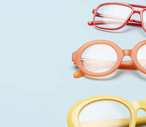 cb7f3c663c Glasses in every color of the rainbow.