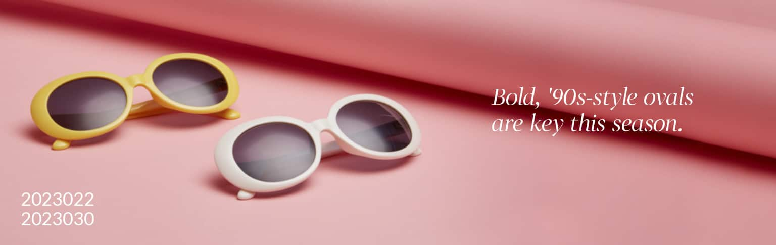 Explore the hottest eyewear trends according to style expert Lindsay Albanese.