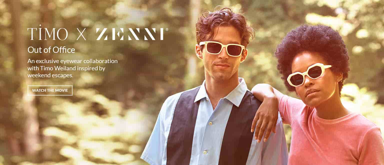 An exclusive eyewear collaboration with Timo Weiland inspired by weekend escapes.
