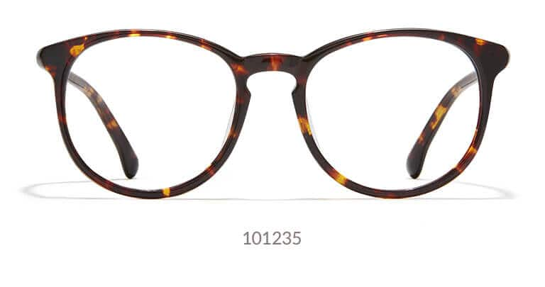 c7369216abc4 These round eyeglasses can either be a bold pair of everyday glasses or a  chic pair