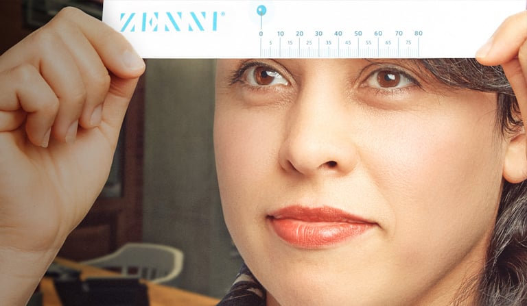 measure your pupillary distance pd before buying zenni prescription glasses and sunglasses online - Zenni Optical Frames