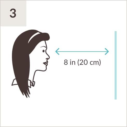 photo relating to Printable Pd Ruler identify Pupillary Length Ruler Zenni Optical