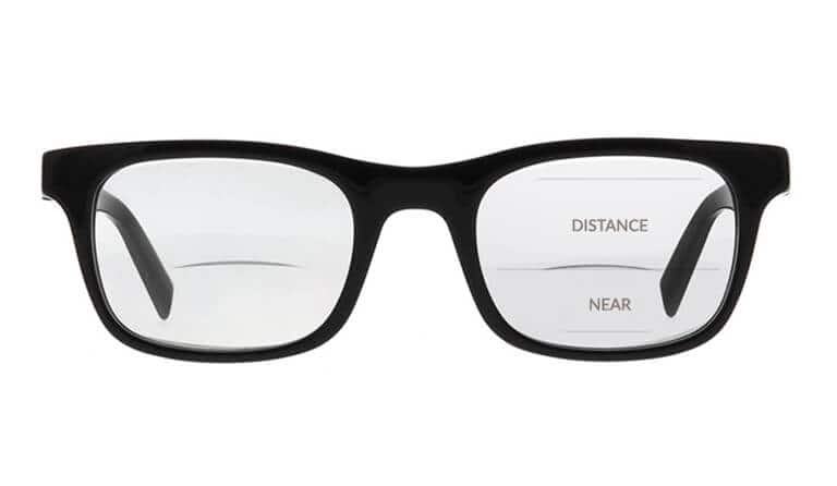 yes twice the vision our bifocals feature a distance lens and closer up