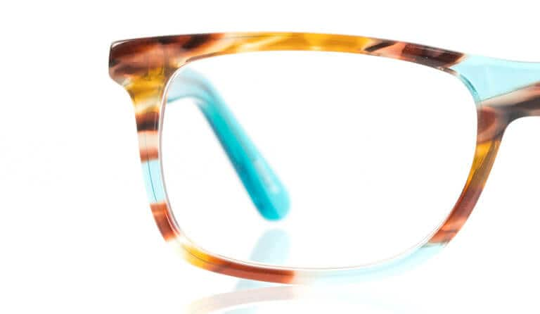 Richer in color than plastic frames and extra skilled at retaining its shape. A high polish, a deeper luster and they're even hypo-allergenic.