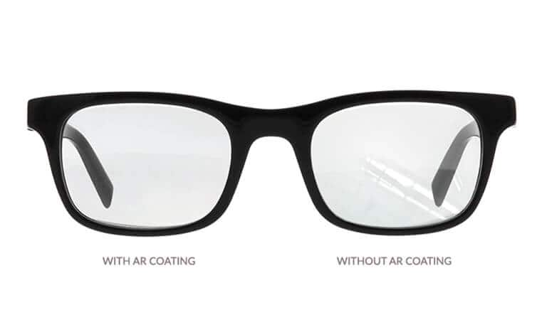 To protect your eyeglasses, Zenni provides free anti-scratch coating and free UV protection. Beyond our standard anti-reflective (A/R) coating, we offer super hydrophobic (water-repelling) A/R coating and oleophobic (oil/fingerprint-resistant) A/R coating.