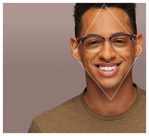 glasses to fit male face zenni optical