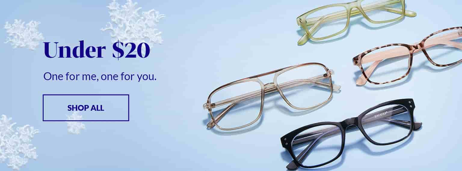 Affordable prices, Zenni Glasses Under $20