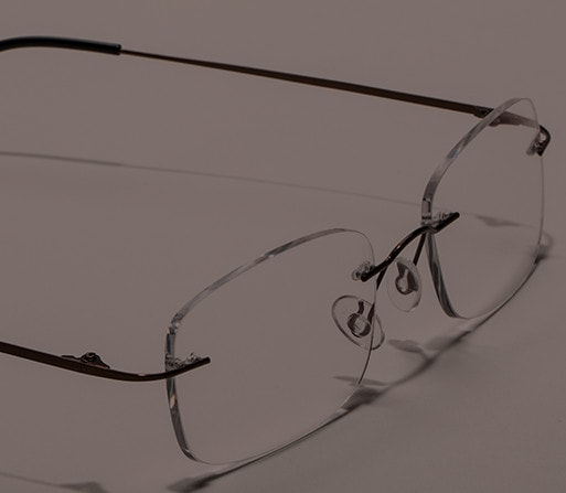 Shop Zenni rimless glasses, be the smartest guy in the room