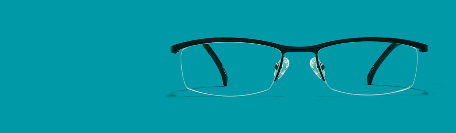 Rimless Cat Eye Glasses