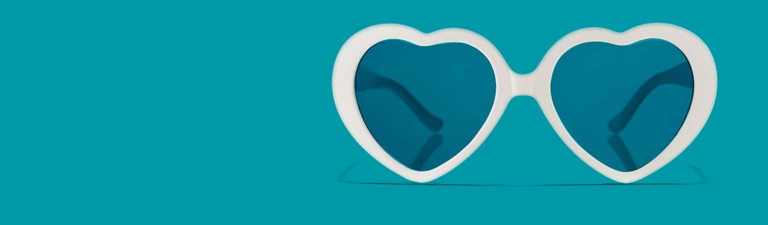 df3a386c8e0 Heart-shaped Glasses