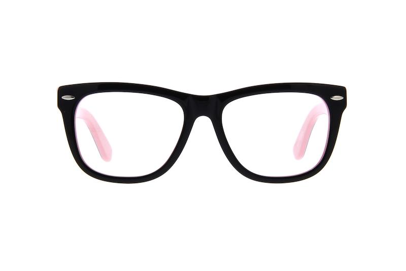 e038217823e Black Square Glasses  107221