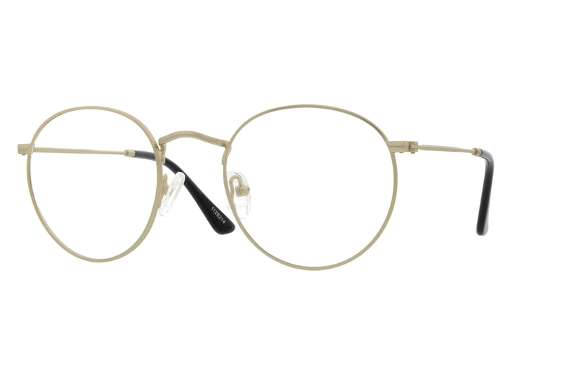f4f38abb47 Gold Sepulveda Round Eyeglasses  1125214