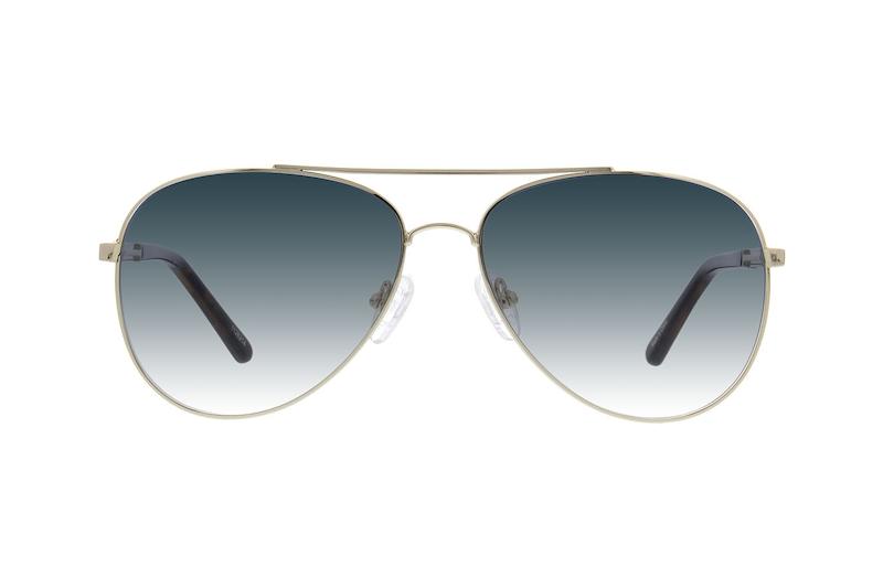 50aabfa9372 Gold Premium Aviator Sunglasses  1126214