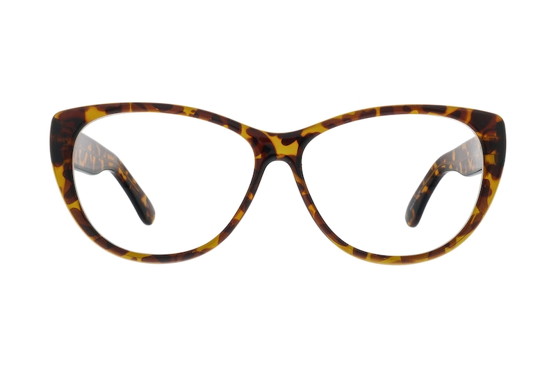 b347618bdbef6 Tortoiseshell Cat-Eye Glasses  123825