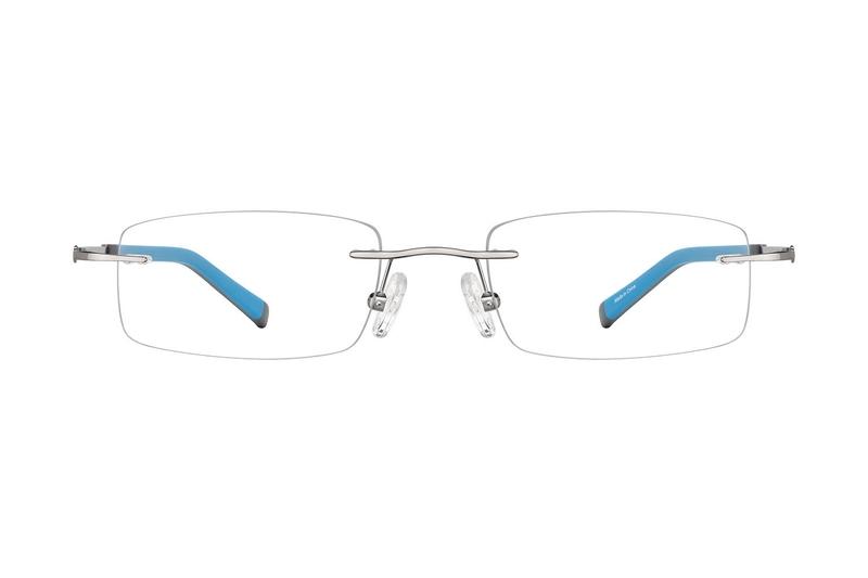 92618c620c Gray Titanium Rimless Glasses  138012