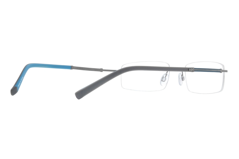 a5afec3c5d Gray Titanium Rimless Glasses  138012