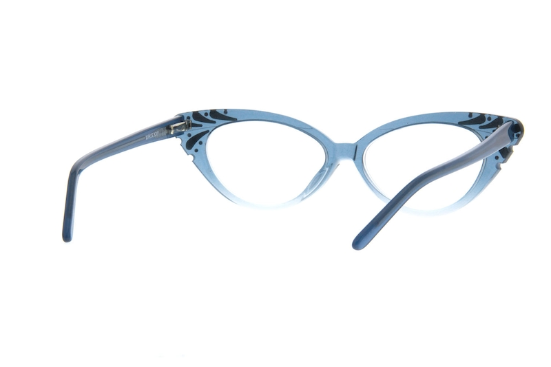 9bcfea3c508 Blue Cat-Eye Glasses  187616