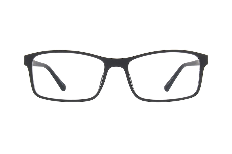 8343ffd289 Black Rectangle Glasses  2010621
