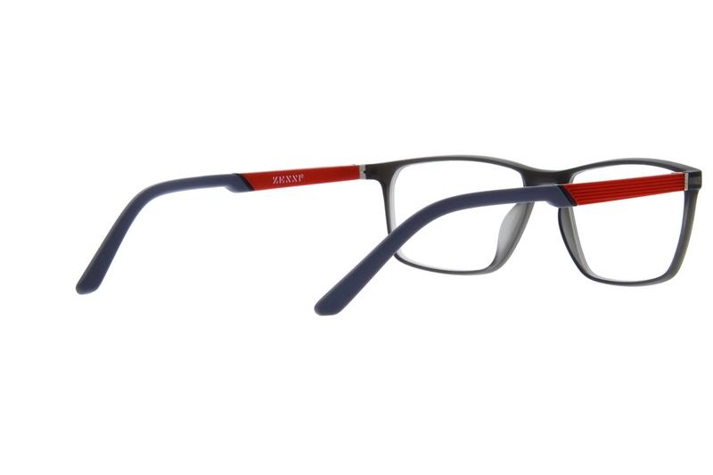 Gray Rectangle Active Eyeglasses #2015812