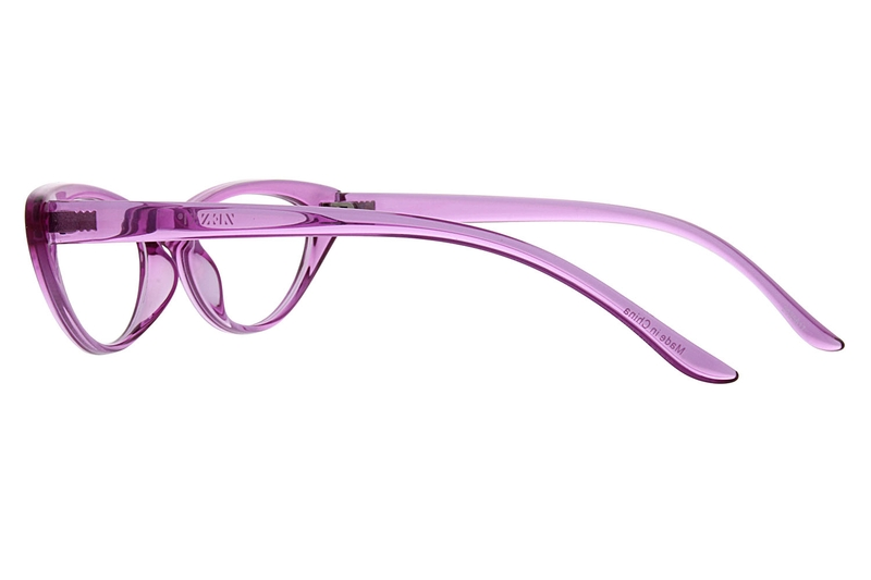 0a15f5e040 Purple Cat-Eye Glasses  2025617