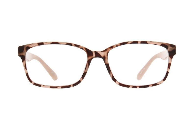 d72241c7a544 Tortoiseshell Rectangle Glasses  206225