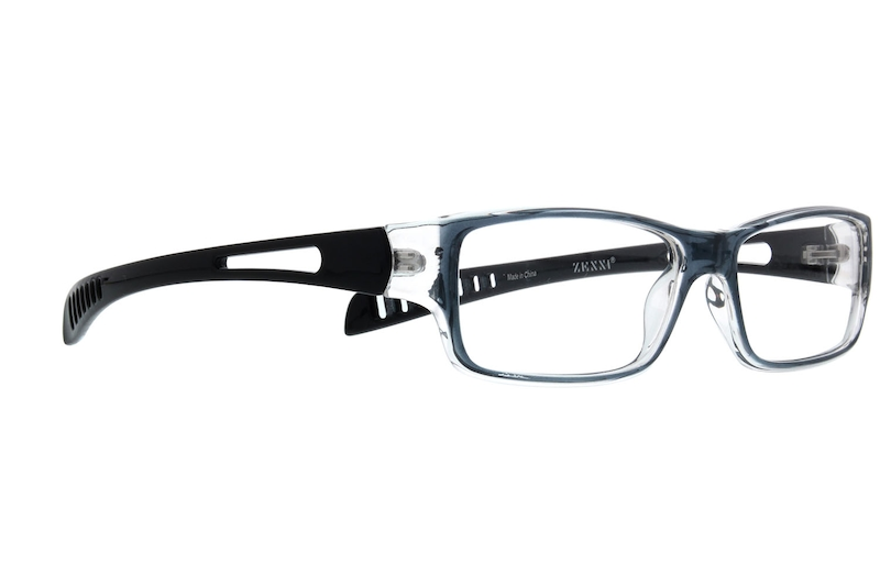 fbcb635b04 Gray Rectangle Glasses  264912