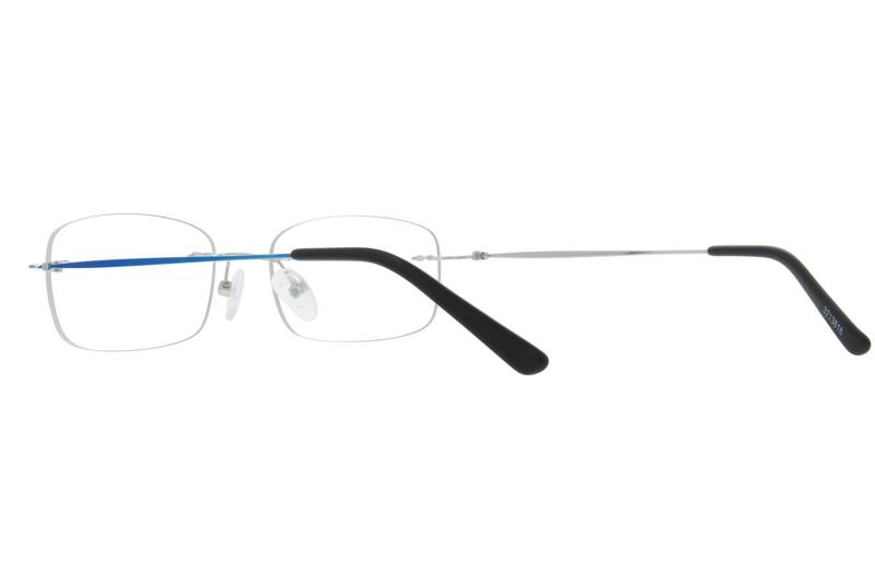 91ed3ed7af Blue Rimless Glasses  3213816